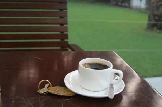 Maidens Hotel: Great coffee!