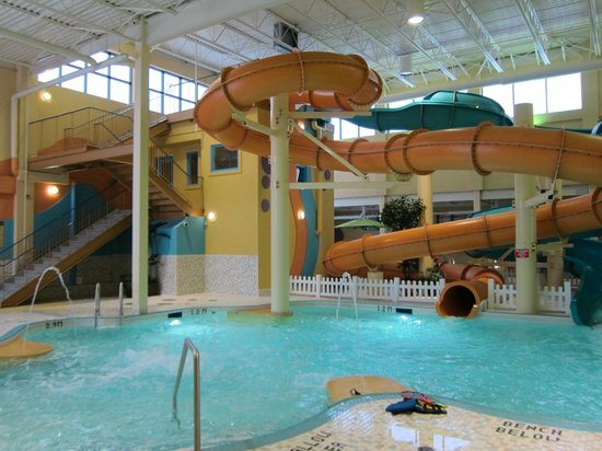 BEST WESTERN PLUS Port O'Call Hotel: Great waterpark