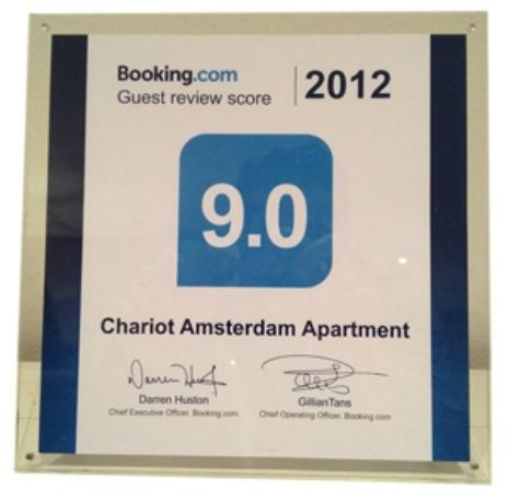 Chariot Amsterdam Apartment: Review Booking.com