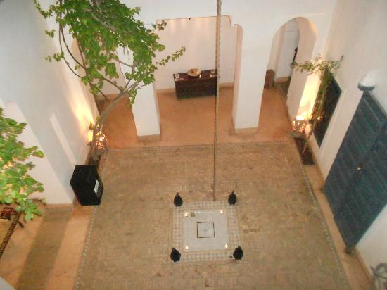 Dar Baraka Karam: the Riad patio