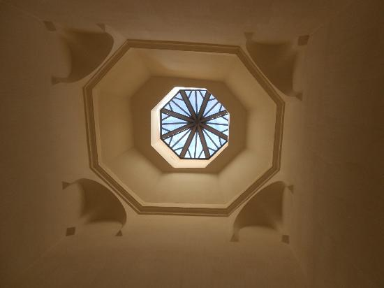 Dar Baraka Karam: our shower roof!