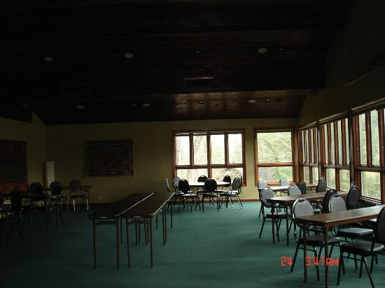 Inn at Evins Mill: reception area
