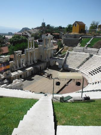 Hotel Renaissance: The roman theater discovered in center of Plovdiv