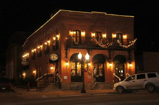 Philipsburg, MT: Yule Night 2012