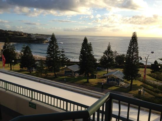 Coogee, Australia: from our room balcony