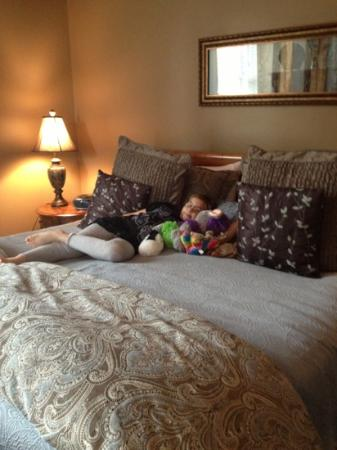 Zeigler House Inn: bed Versailles Suite