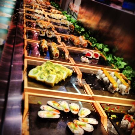 Lunch Sushi Cut Rolls Buffet Picture Of Ichiumi New York City TripAdvisor