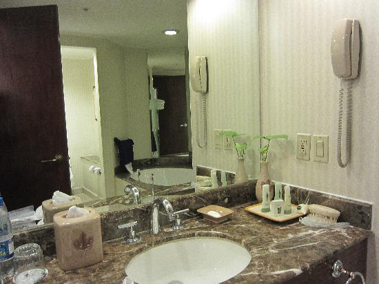 JW Marriott Hotel Quito: Bathroom