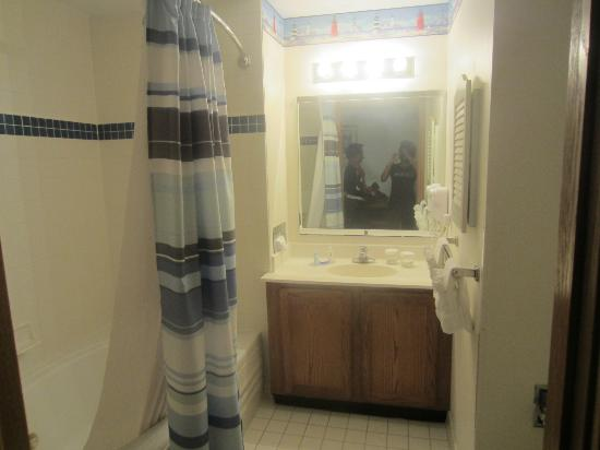 Cove of Lake Geneva: Bathroom (not visible- jetted bathtub)