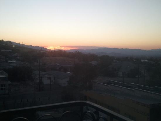 Mizpah Hotel: Top Floor View Sunset