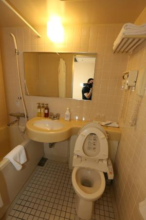 Chisun Hotel Ueno: bathroom