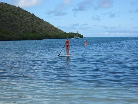 Biras Creek Resort: Paddleboarding!