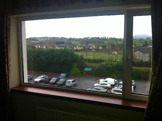 Gleneagle Hotel: The window with no net curtain for privacy.. very annoying!