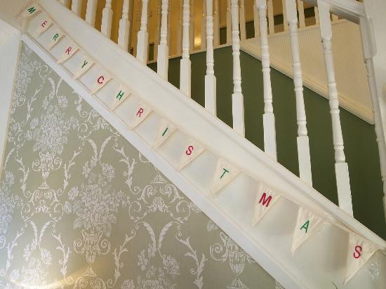 Harriet House: a very merry christmas staircase!