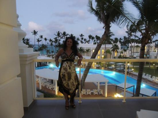 Riu Palace Punta Cana: terrific view from vip area.