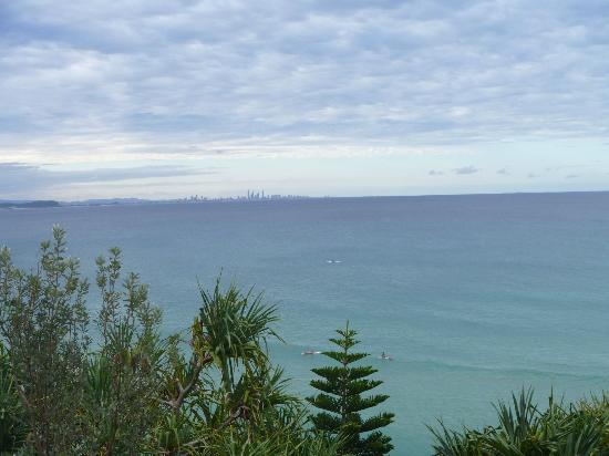 Greenmount Beach Resort Coolangatta: View from Greenmount looking towards Surfers Paradise
