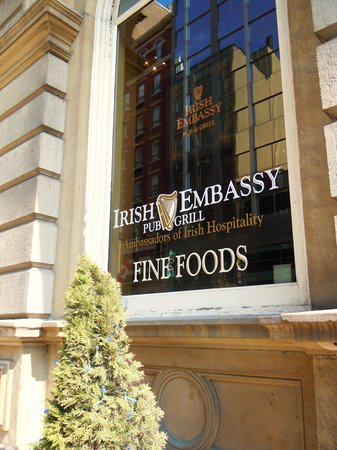 The Irish Embassy Pub and Grill