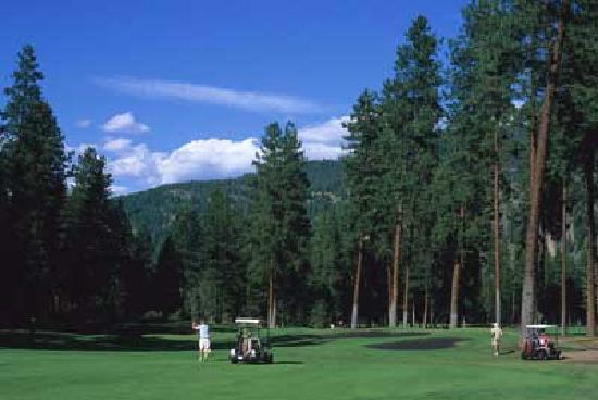 Knights Inn Christina Lake: Just Minutes for Championship Rated Christina Lake Golf Club
