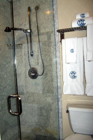 Union League Club: Marble Shower