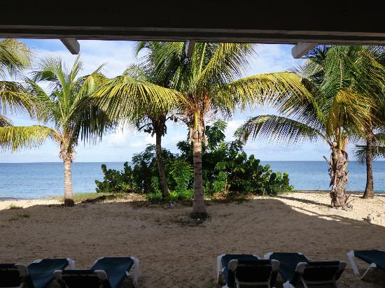 Galley Bay Resort: View from our room!!