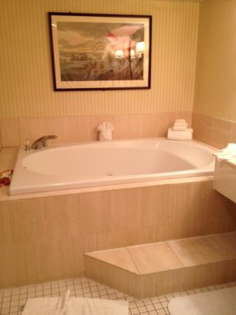 Woodcliff Hotel and Spa: jacuzzi in Catskills suite
