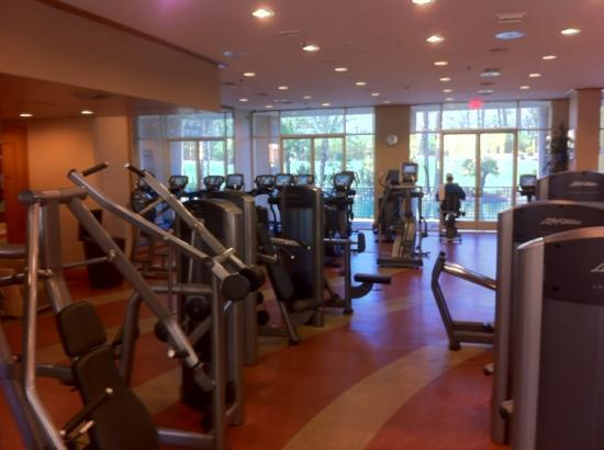 Renaissance Esmeralda Resort &amp; Spa: la salle de fitness