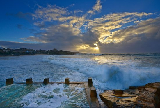 Coogee winter morning. C Steve turner photography