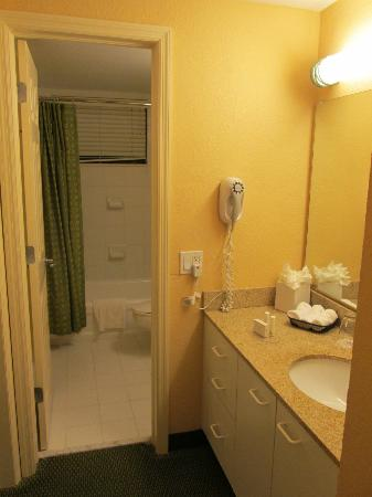Residence Inn Miami Coconut Grove: Two-piece bathroom