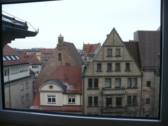 Ibis Nuernberg Altstadt: view from room