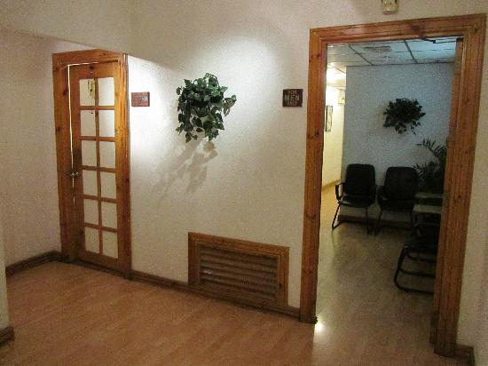 Holiday Spa Photo: Men and Women's Massage Area Entrance
