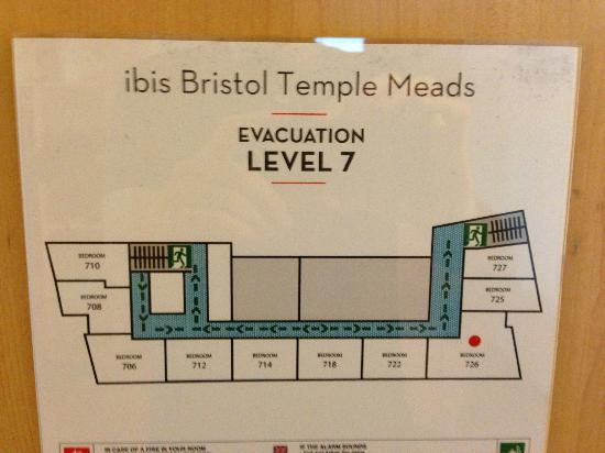 Ibis Bristol Temple Meads Quay: Floorplan