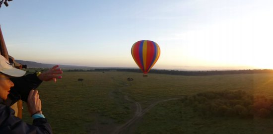 Kilima Camp: Flying in the Mara