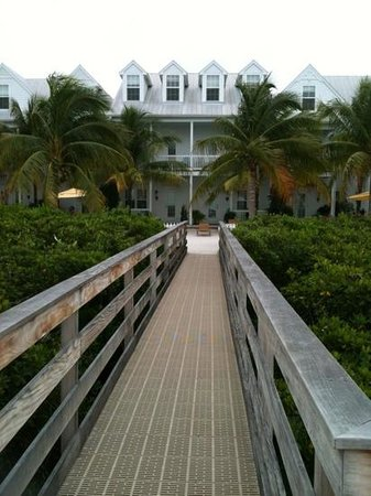 Parrot Key Hotel and Resort: private peer.