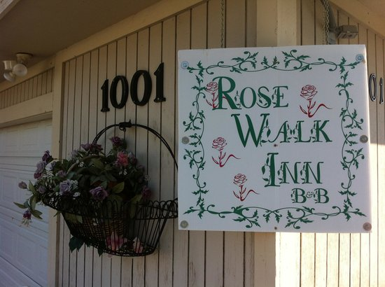 Rose Walk Inn Bed and Breakfast: Eingangsbereich