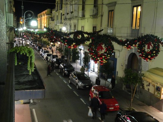 Hotel Sorrento City: Christmas in Sorrento, from our Balcony.