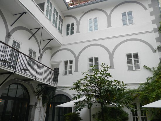 Antiq Palace Hotel & Spa: From the enclosed garden area