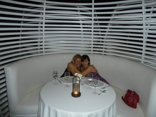 Zoetry Agua Punta Cana: Gorgeous dining room and amazing food