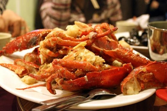 Lobster picture of 9 nine chinese cuisine halifax for 8 cuisines of china