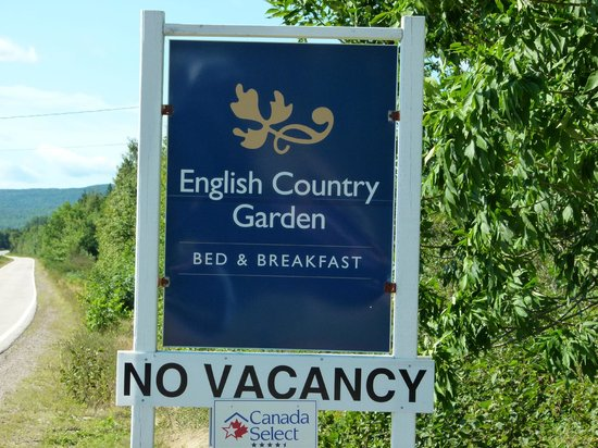 English Country Garden B&B: Make your reservation early so as not to be disappointed.