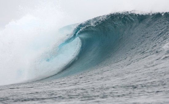 Tavarua Island Resort: Cloudbreak, Oct 2012