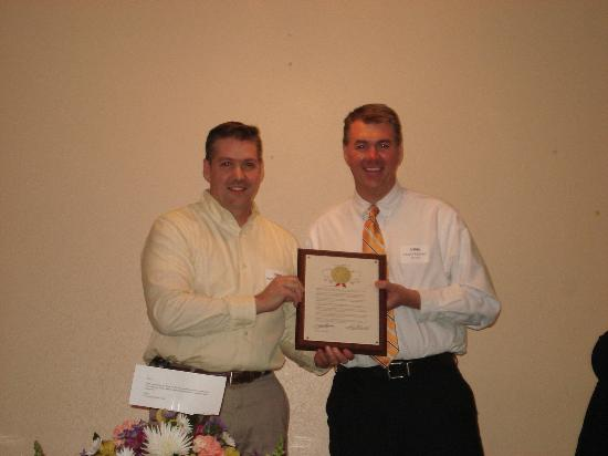 Plover, WI: Patric & Eric Freund  Sky Club 2007 Business of the year