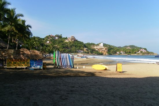 Hotel Riu Vallarta: Beach at Sayulita