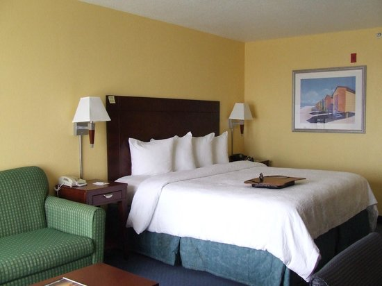 Hampton Inn Cocoa Beach: Room with King size bed