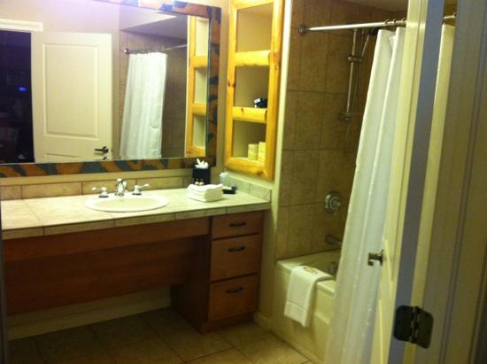 Sheraton Mountain Vista Resort: 2nd Bathroom