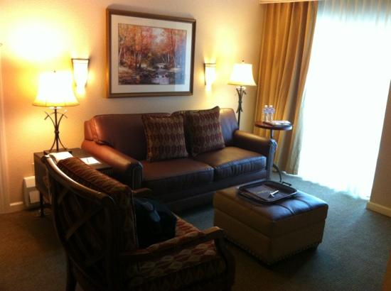 Sheraton Mountain Vista Resort: Living area