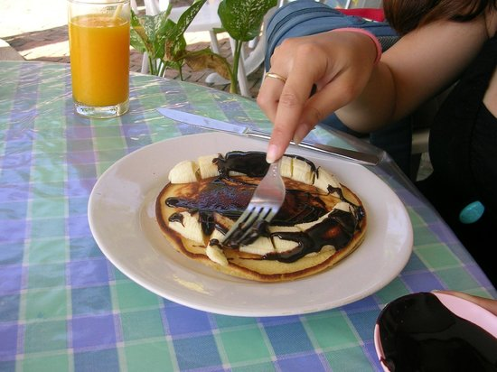P&P Samui Resort: Tasty Pancake on the morning