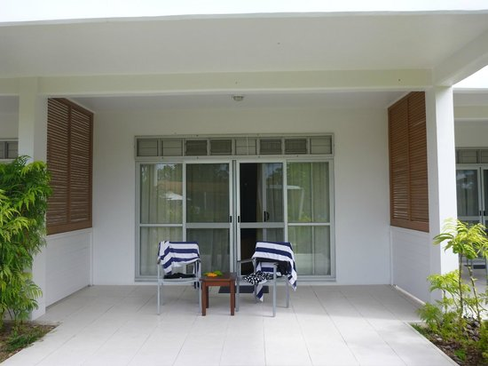 The Terraces Apartments Denarau: Verandah
