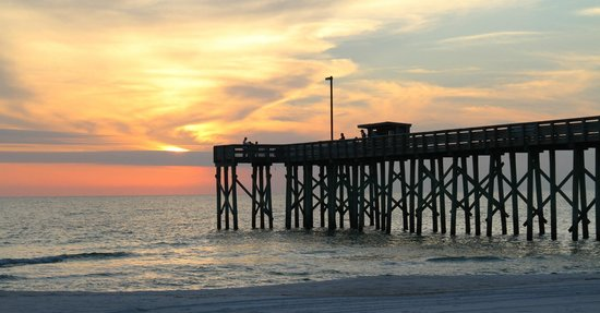 Fishing pier at st andrews state park december 2012 for Panama city beach pier fishing report