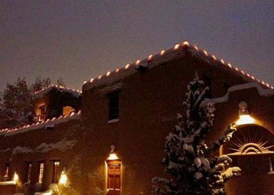 Inn on the Alameda: Santa Fe, First Snow, Dec. 2012