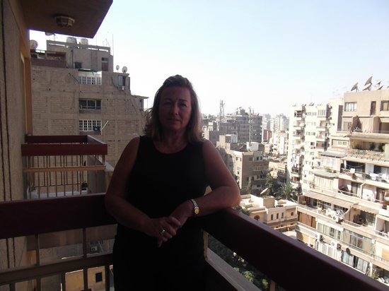 Safir Hotel Cairo: My Husband took this.
